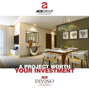Ace Divino - 2 -3 BHK flats in Noida Extension